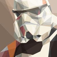 Kubista Star Wars plakátok