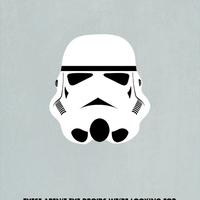 Minimál Star Wars karakterek