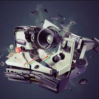 Polaroid explosion