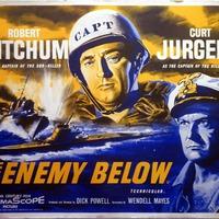 Alattunk az ellenség / The Enemy Below (1957)