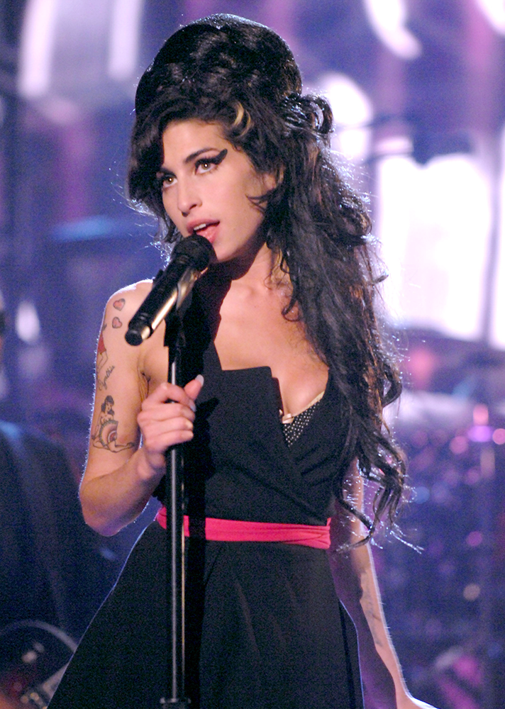 Amy Winehouse hajkoronája felejthetetlen mindenki számára.