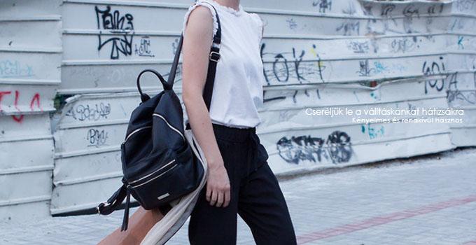 CSERÉLJÜK LE A VÁLLTÁSKÁNKAT HÁTIZSÁKRA - Little Black Fashion 4368b8d09e