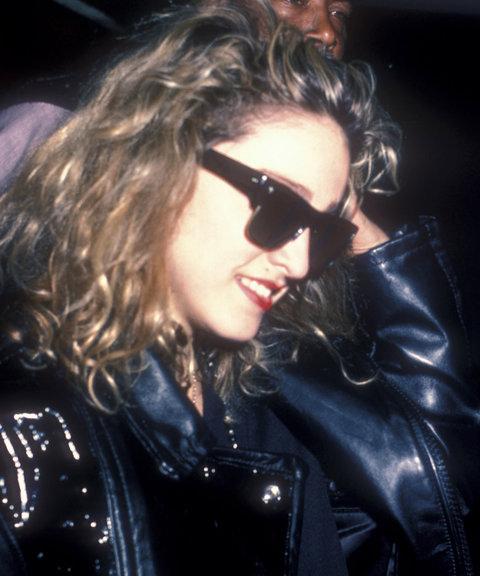 Madonna annak idején sehová nem indult el egy Ray-Ban Wayfarers szemüveg nélkül. - Abszolút örök.