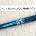 Ez annyira fehér! - Kipróbáltuk a Signal White Now Touch tollat