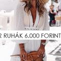 Divatos ruhák 6000 forint alatt
