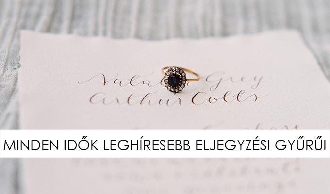 EZEK A LEGIKONIKUSABB ELJEGYZÉSI GYŰRŰK - Little Black Fashion 4e4fc924f5