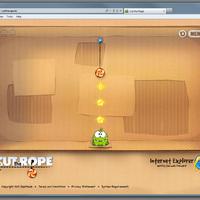 Cut the Rope HTML5-tel a böngésződben