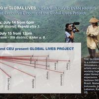 A global lives videó-projekt Budapesten