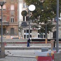 Átadták a Rákóczi teret - megoldódott a tükörfa rejtélye