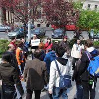 Flashmob a Kossuth téren