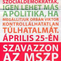 Nem lehet más az MSZP és a választási kampány?