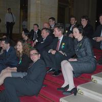 Az ötödik frakció - LMP parlamenti séta és a Parlament alakuló ülése