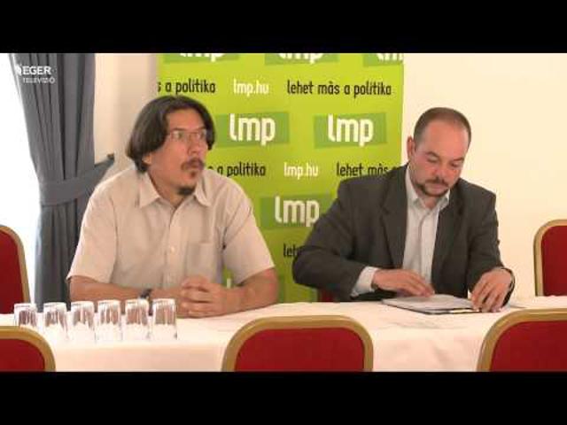 Az LMP egri jelöltjei a 2014-es önkormányzati választáson