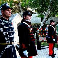 Koszorúzási ünnepség az Aradi vértanúk emlékére