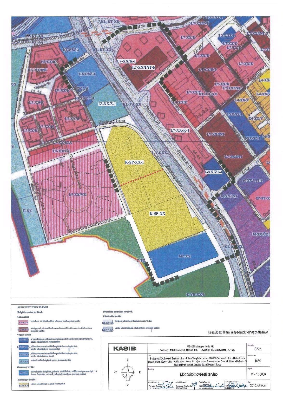 ovi magyarország térkép A kerület szabályozási tervének módosítása is napirenden a  ovi magyarország térkép
