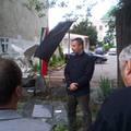 A trianoni tragédiára emlékezett Szombathelyen az LMP, Csepregen koszorút helyezett el a párt