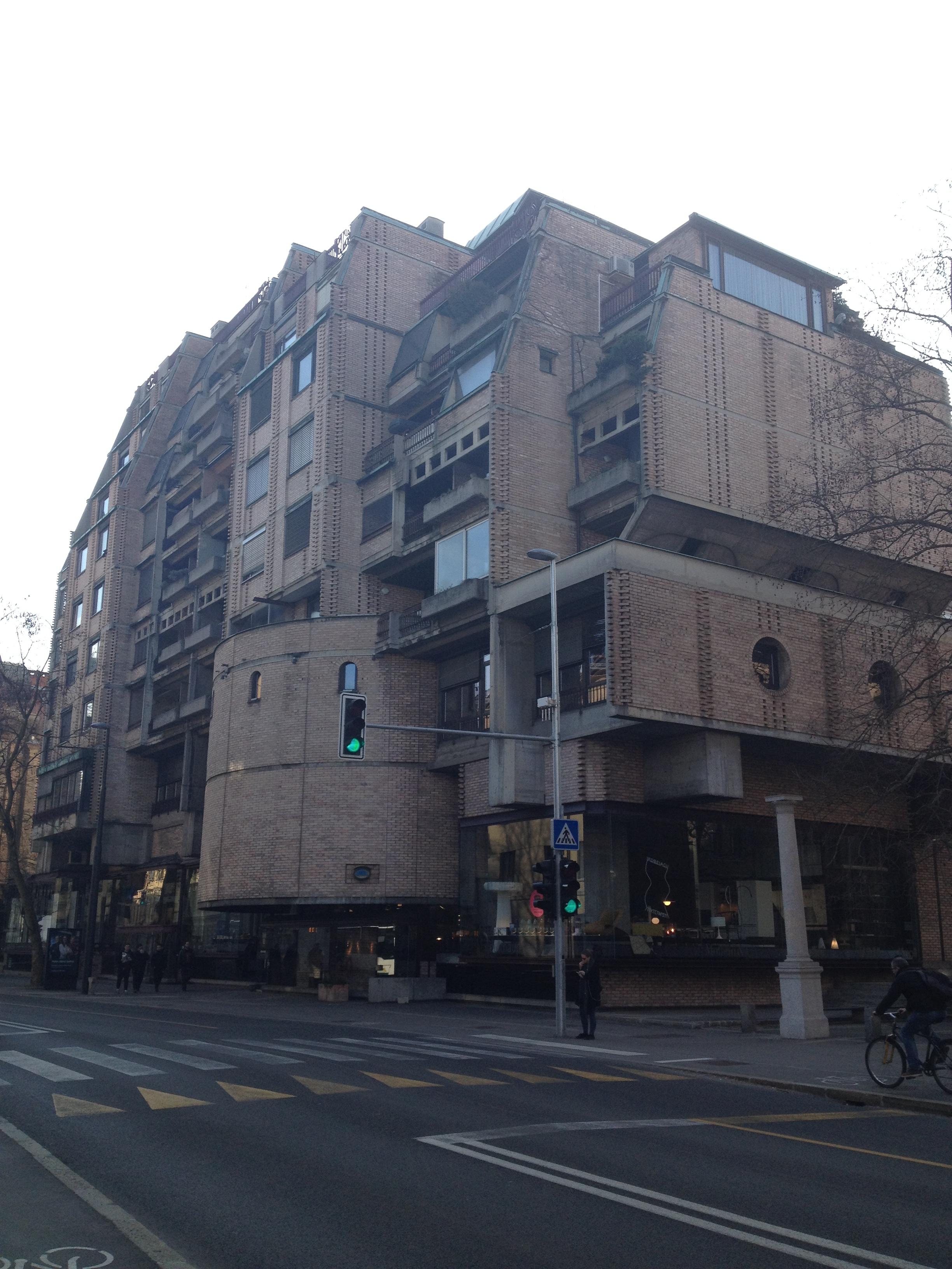 brutalista építészet