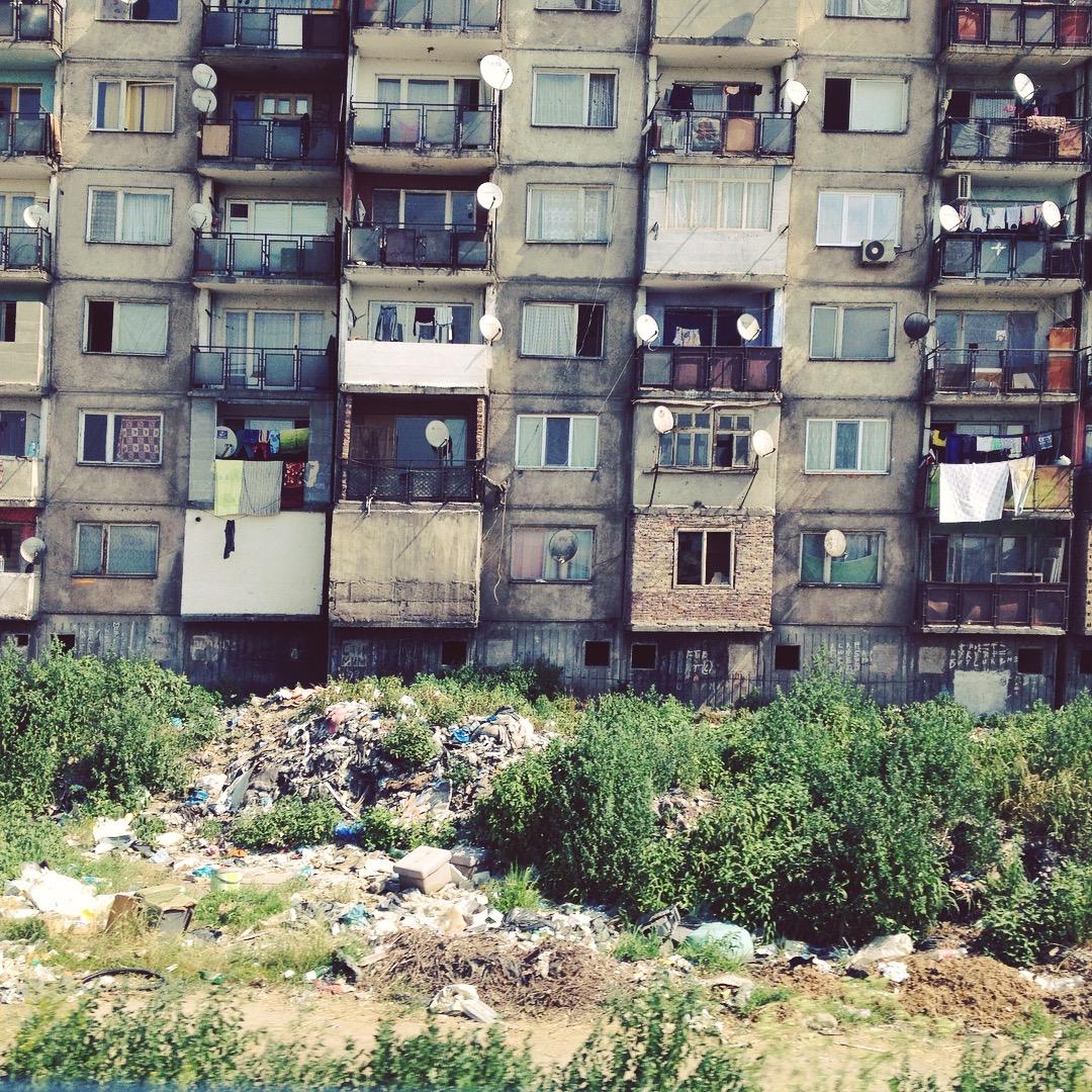 ...Természetesen a környező panel lakótömbök is résztvevői a  szukcessziónak.