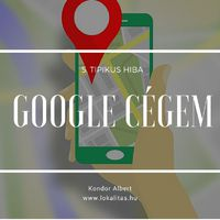 Google Cégem fiók (5.tipikus hiba)