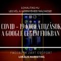A COVID - 19 korlátozások a Google Cégem fiókban