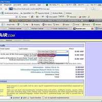 Az online check-in rejtélye a Ryanair-nél