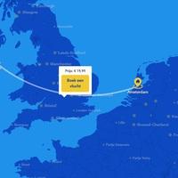Amszterdamba repül a Ryanair