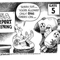 Biztonsági ellenőrzés a reptereken