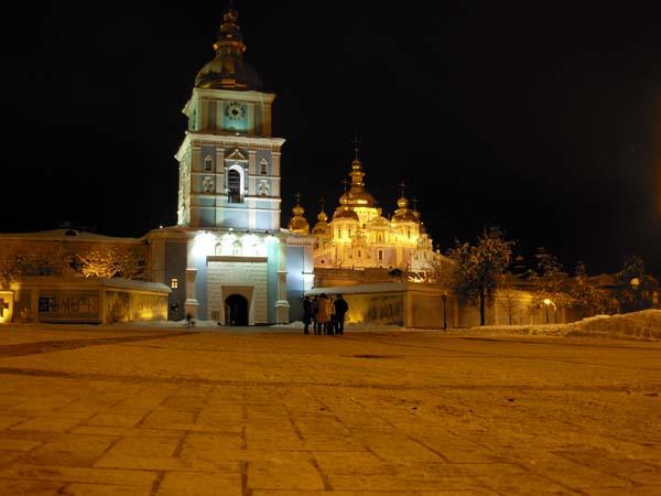 Szent Mihály monostor este.JPG