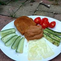 Így készíts sült padlizsánból és kápia paprikából diétás mártogatóst