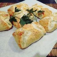 Spenótos táskák gluténmentes tészta recepttel