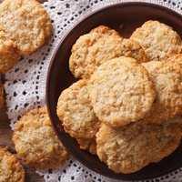 A legegyszerűbb tejmentes kókuszos keksz