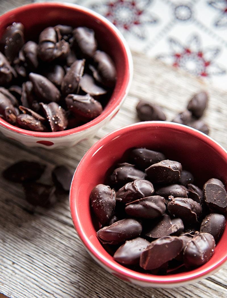 Csokoládéval bevont finomságok