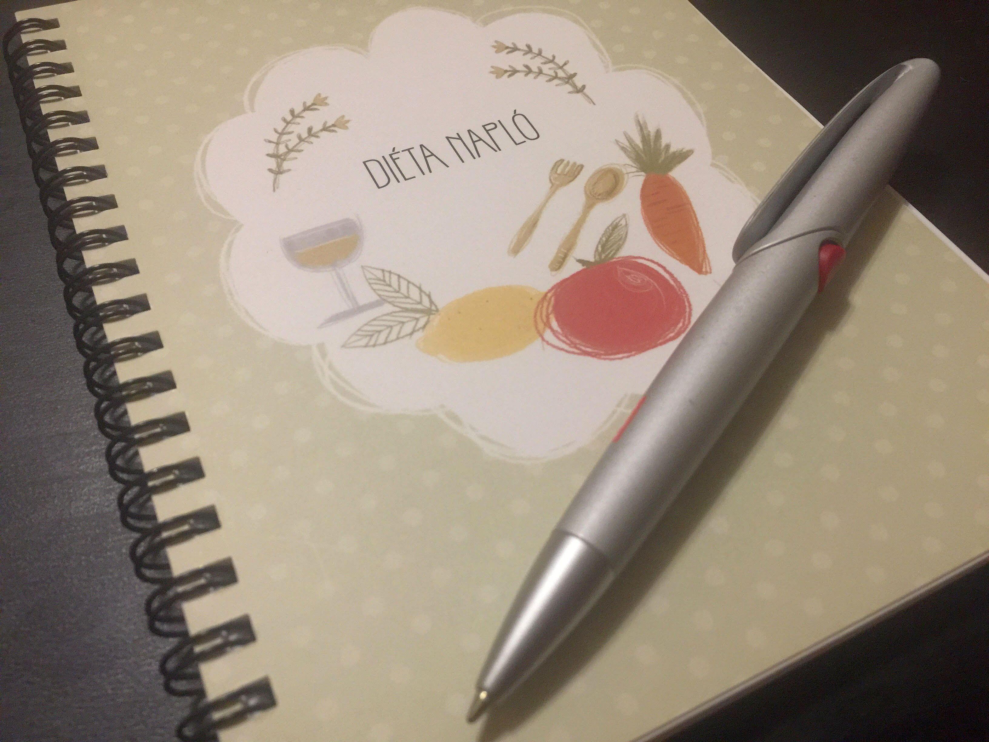 Így vezess diéta naplót, hogy garantált legyen a fogyásod