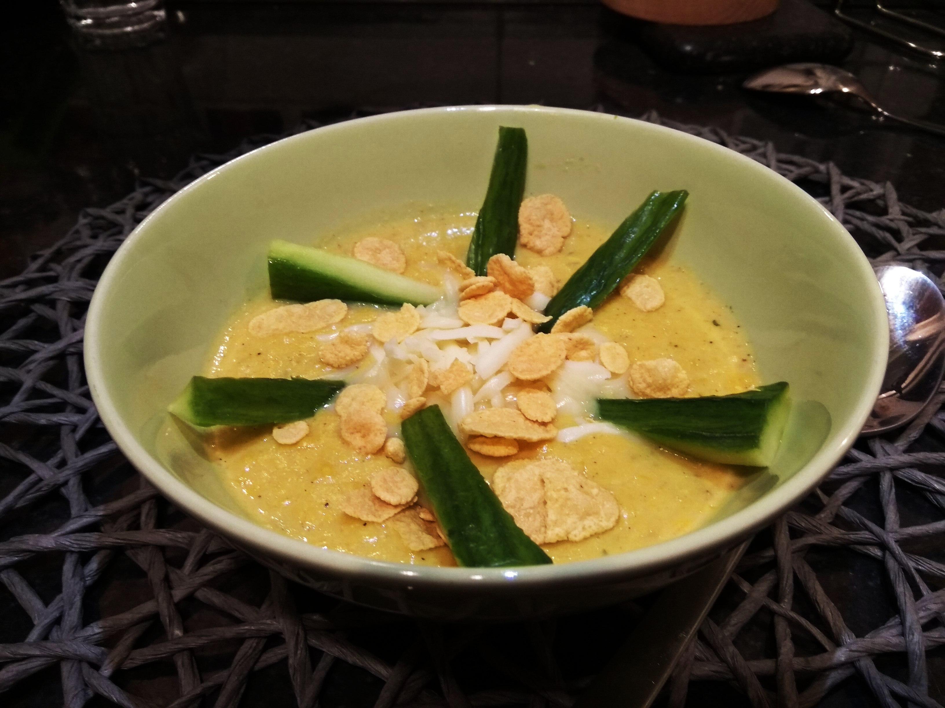 Kukoricakrémleves sajttal és tortillával- ki ne hagyd!