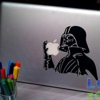 Darth Vaderes Macbook!