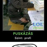 PUSKÁZÁS PROFI SZINTEN