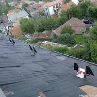 Löncshús a tetőn