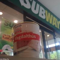 Löncshús a Subwayben is kapható