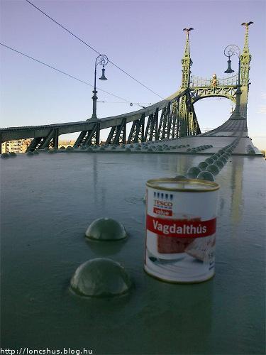Löncshús a Szabadság hídon