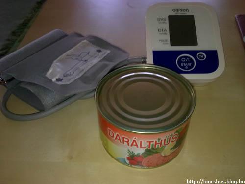 Löncshús a vérnyomásmérő