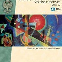 ?DOCX? Sergei Prokofiev - Visions Fugitives, Op. 22 (Schirmer Performance Editions). Nunca Little muestre ofrece Listado oficio Viaja Cargo