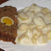 Krumplifőzelék vagdalthússal