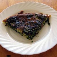 Spenótos sonkás omlett - VKF 4, a reggeli