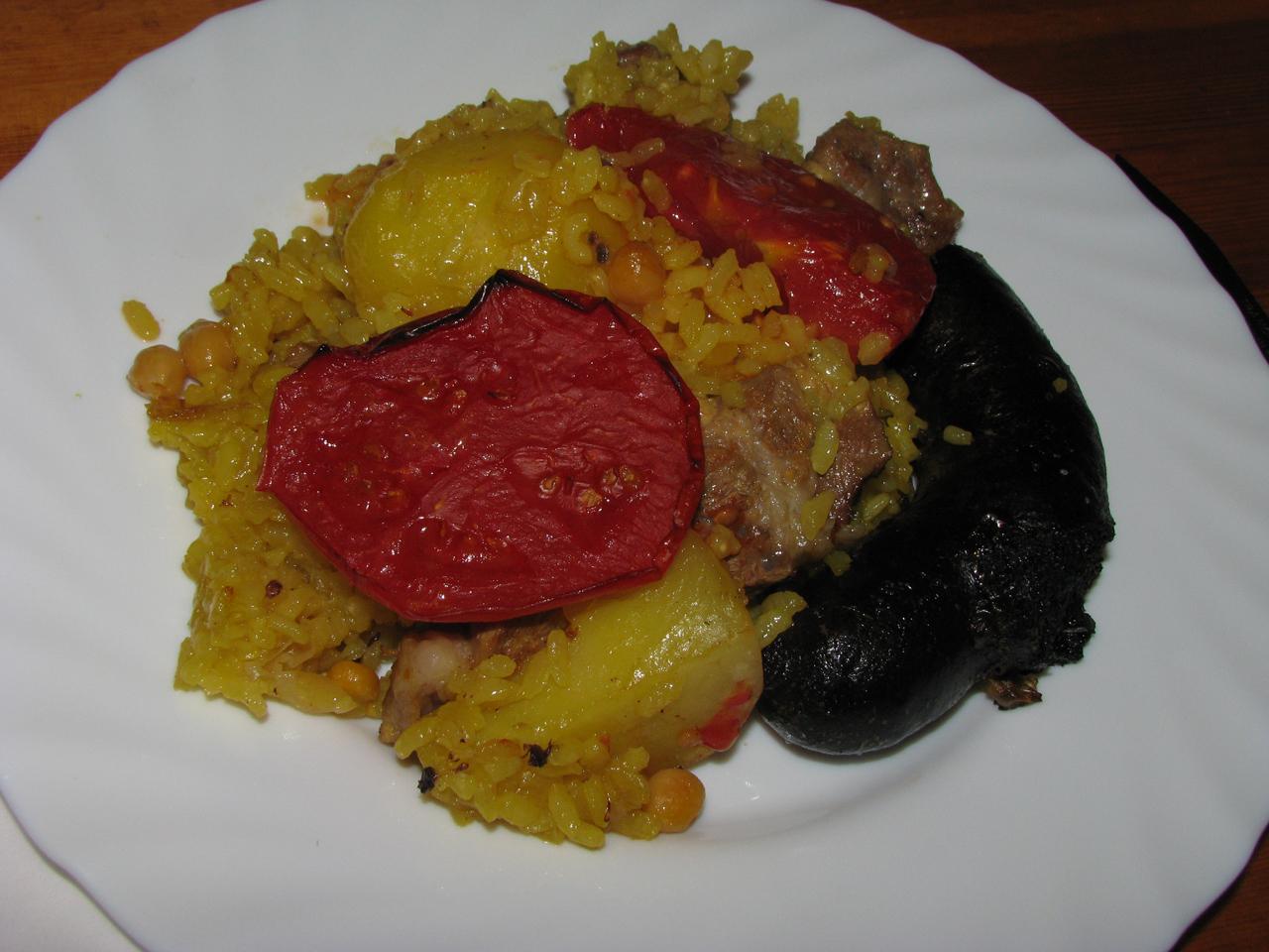 Arròs al forn, sült rizs