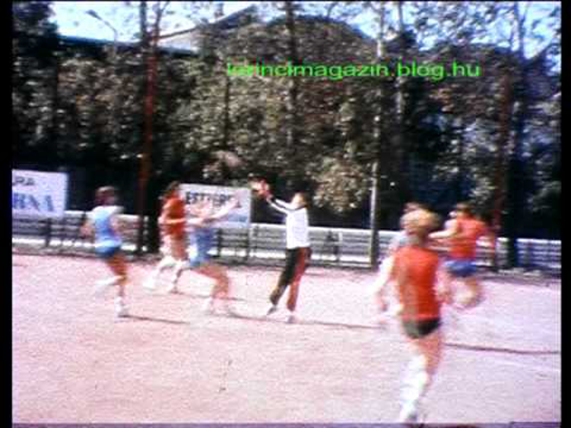 Lőrinci Fonó – Kistext(?) női kézilabda mérkőzés