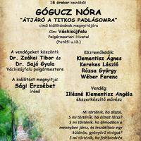Meghívó Gógucz Nóra festőművész kiállítására