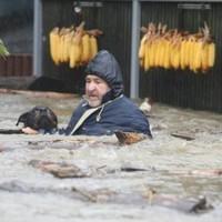 Hogy folytatódhasson az élet az árvíz után is...