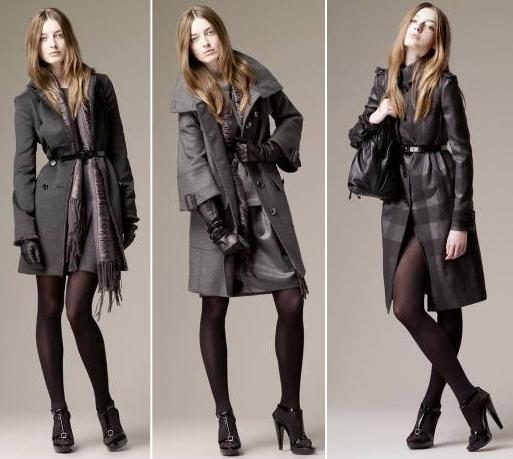 Divatos hosszú kabátok a Burberry-től cc2e1d5ae6