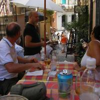 Dél-olasz vacsora a La Rosa-ban