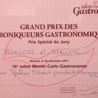 A SIKLÓSI kereskedőház és a chocoMe közös sikere Monte Carlo-ban